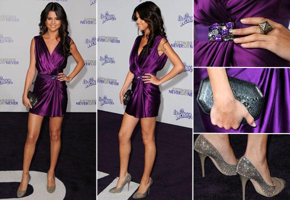 Туфли под фиолетовое платье